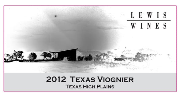 2012 Viognier at Lewis Winery Reviewed